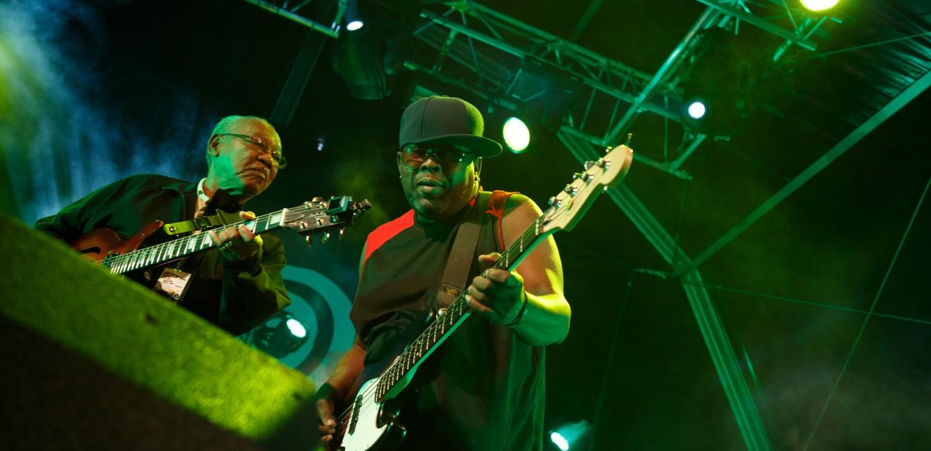 LOULE, PORTUGAL - JUNE 30: Jamaican Legends performs onstage in